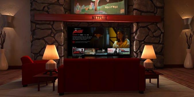netflix con las aplicaciones de realidad virtual
