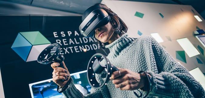 uno de los centros de juegos de realidad virtual en madrid