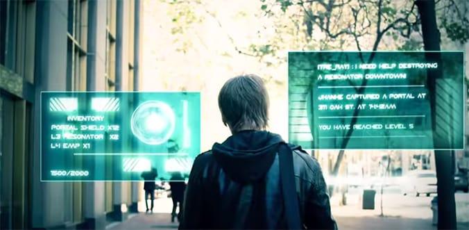 una de las aplicaciones de realidad aumentada