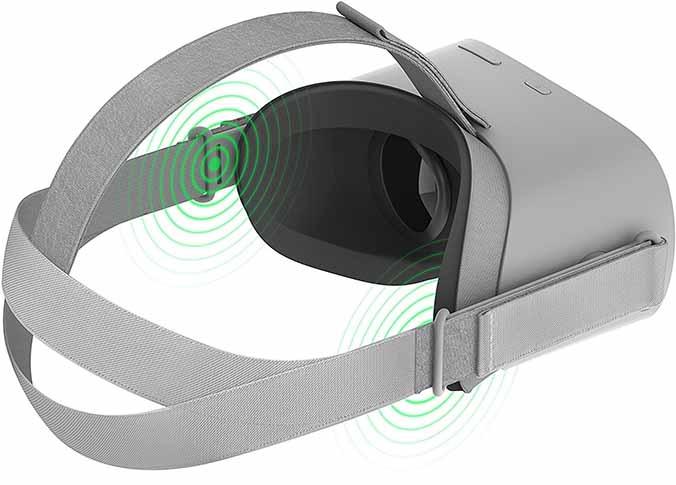 sonido en las oculus go