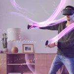 jugando a juegos de oculus quest